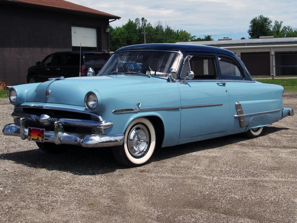 1953 ford customline tudor 111034 for 1953 ford customline 4 door