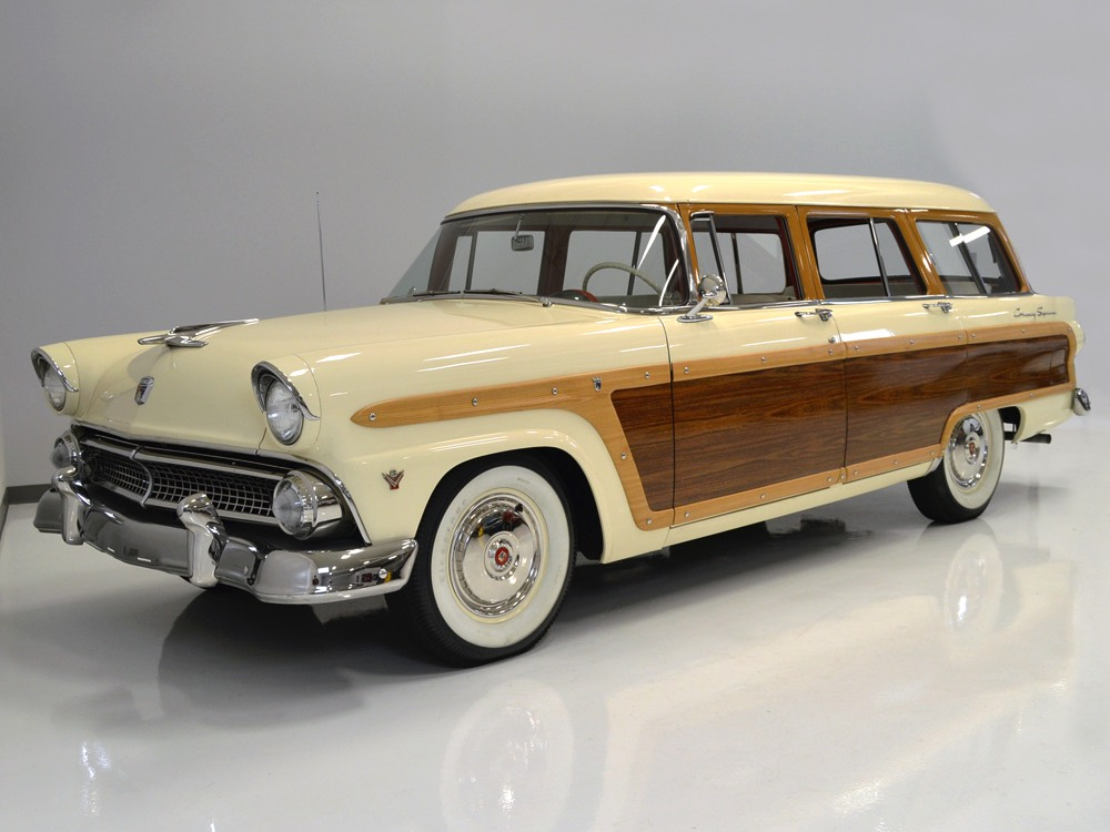1955 Ford Country Squire Station Wagon 111036