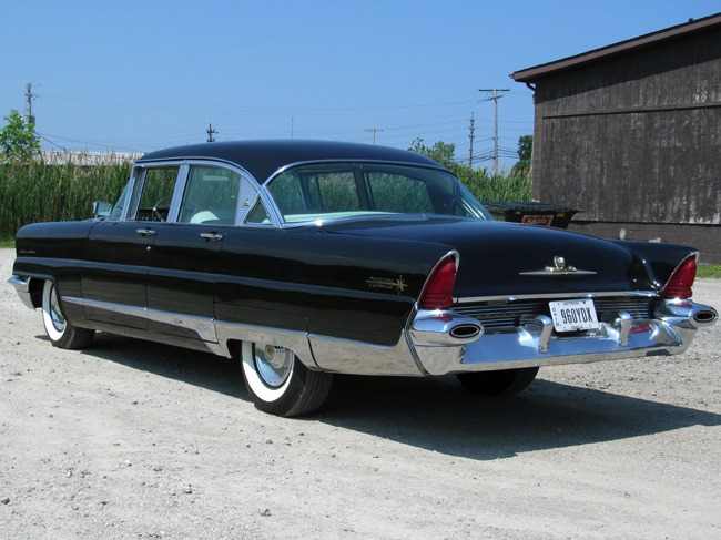 harwood motors 1956 lincoln premiere 4 door sedan sold