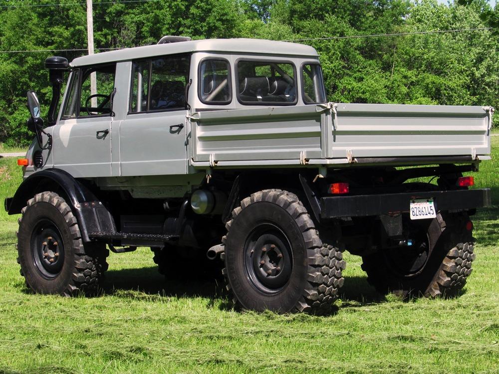 1980 Mercedes-Benz Unimog 416 Doka - 111049