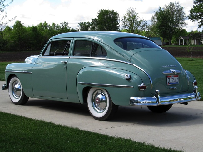 Harwood Motors 1950 Plymouth P19 Deluxe 2 Door Sedan Sold
