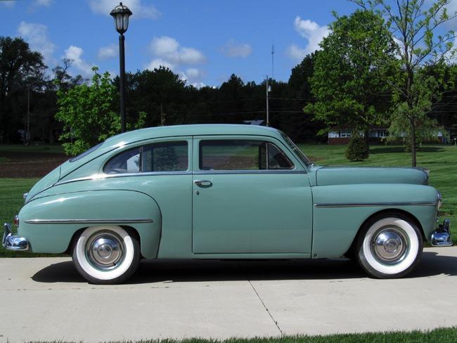 Harwood motors 1950 plymouth p19 deluxe 2 door sedan sold for 1950 plymouth 2 door coupe