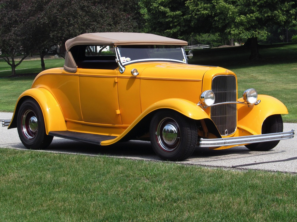 Harwood Motors :: 1932 Ford Deluxe Roadster - SOLD