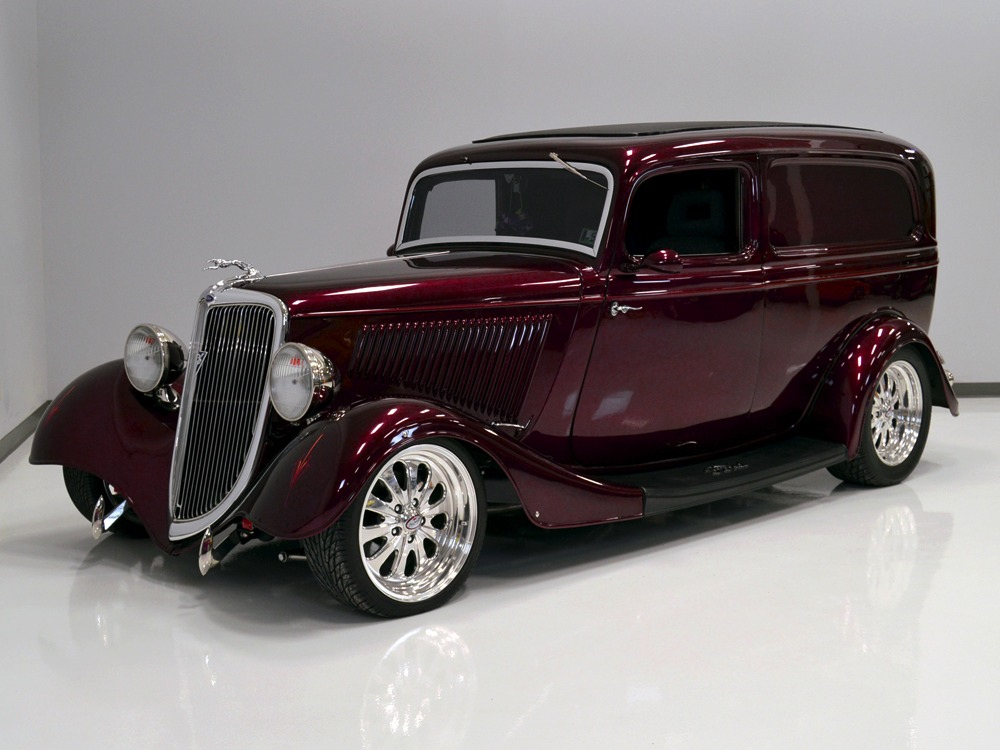 Harwood Motors :: 1934 Ford Sedan Delivery - SOLD