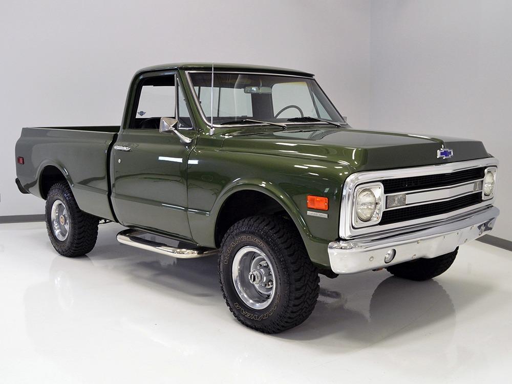 Harwood Motors 1970 Chevrolet K10 4x4 Pickup Sold