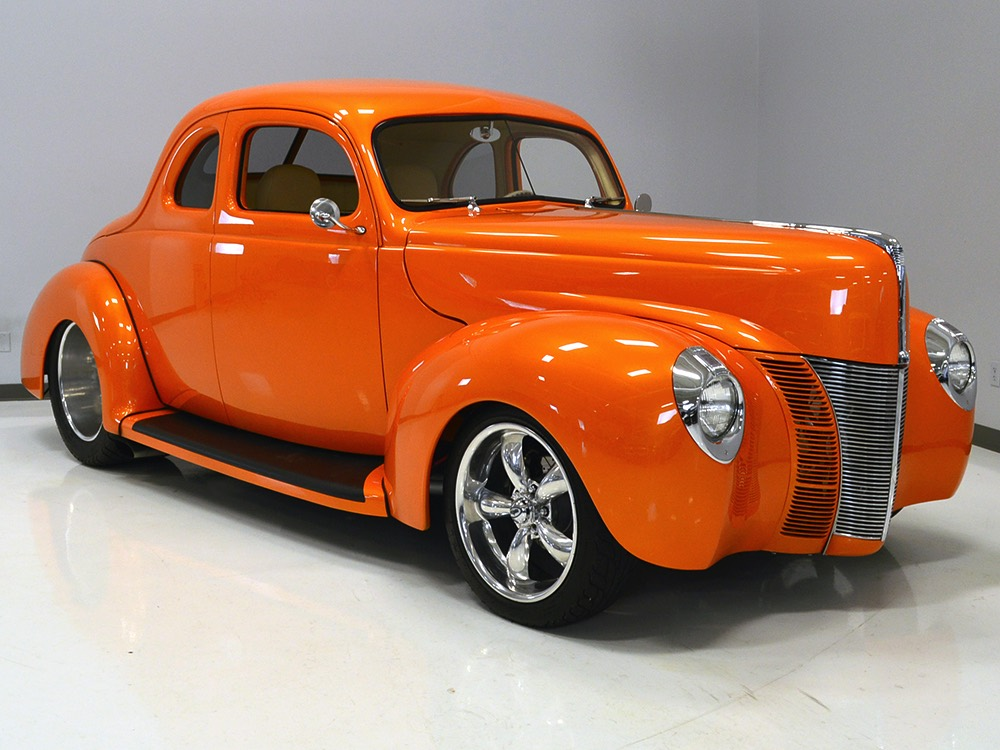 Harwood Motors 1940 Ford Deluxe Coupe Quot Kontrolled Kaos Quot Sold