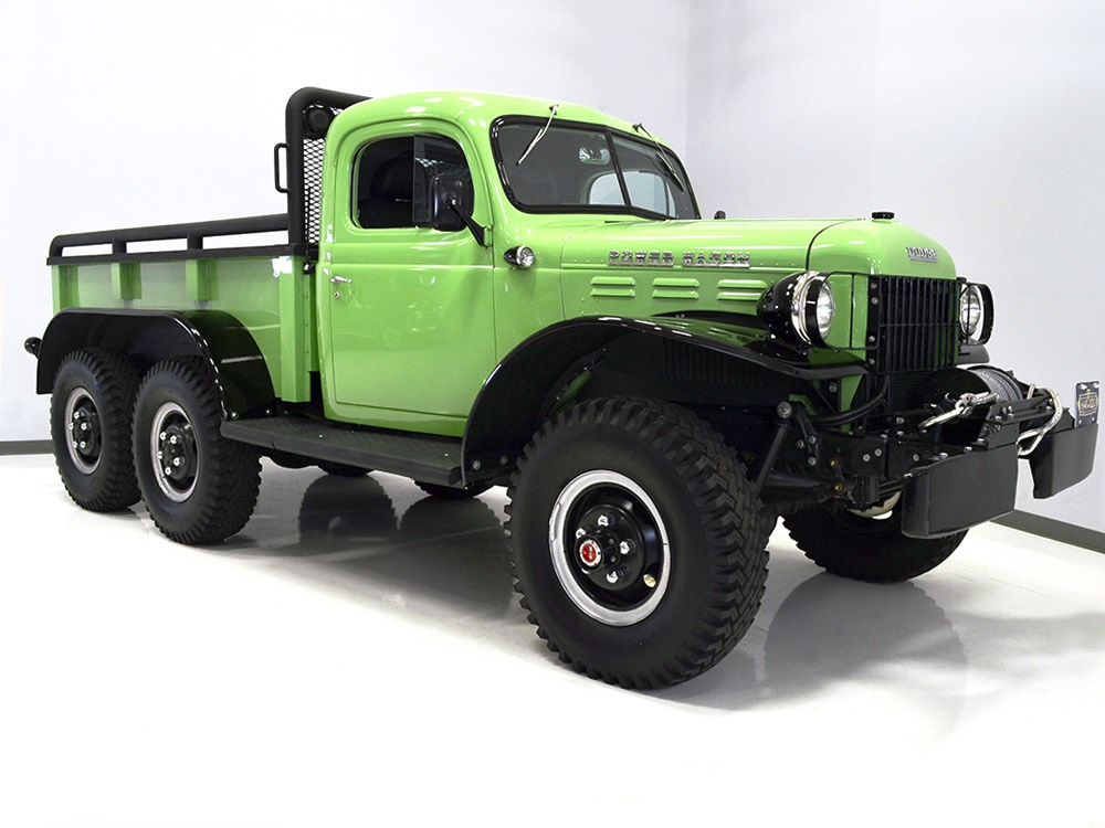 Harwood Motors 1947 Dodge Power Wagon 6x6 Sold