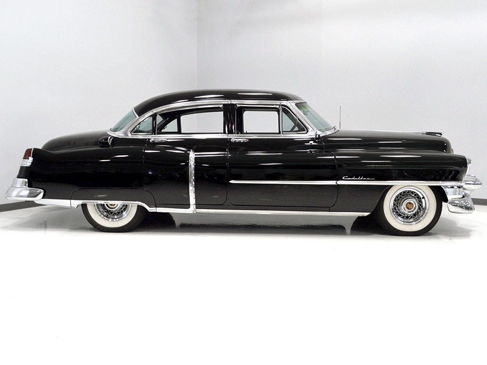 Harwood motors 1953 cadillac series 62 4 door sedan sold for 1953 cadillac 4 door sedan