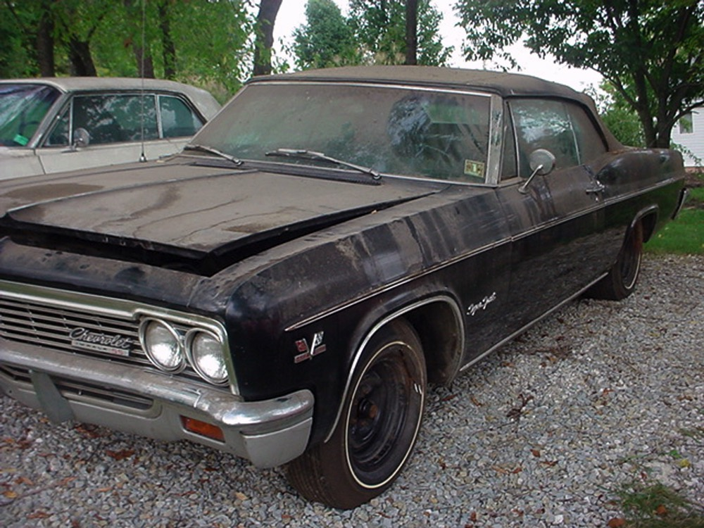 harwood motors 1966 chevrolet impala ss 427 convertible sold. Black Bedroom Furniture Sets. Home Design Ideas