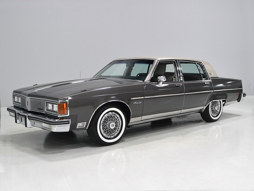 harwood motors 1984 oldsmobile 98 regency brougham sold. Black Bedroom Furniture Sets. Home Design Ideas