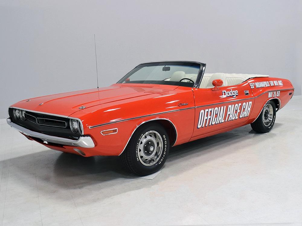 1971年 ダッジ チャレンジャー ペースカー