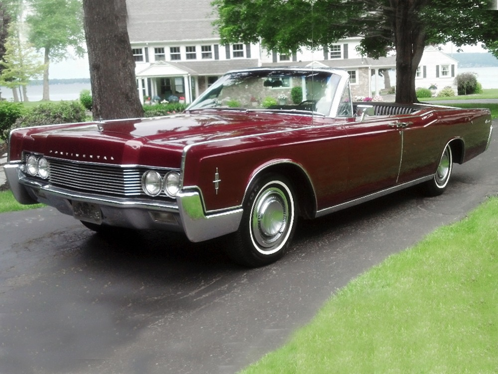 1966 lincoln continental convertible 311060. Black Bedroom Furniture Sets. Home Design Ideas